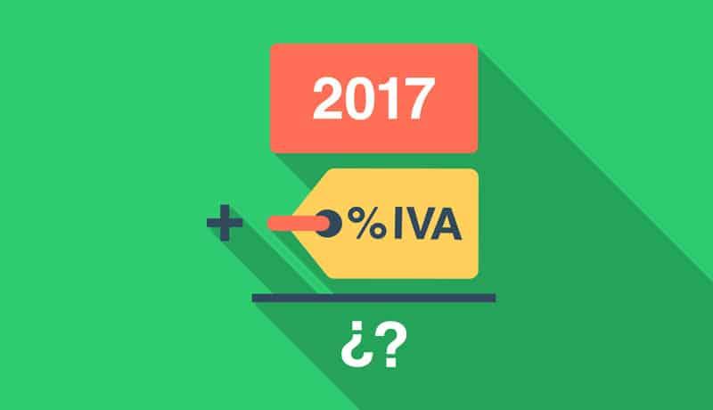¿Qué pasará con el IVA en 2017?
