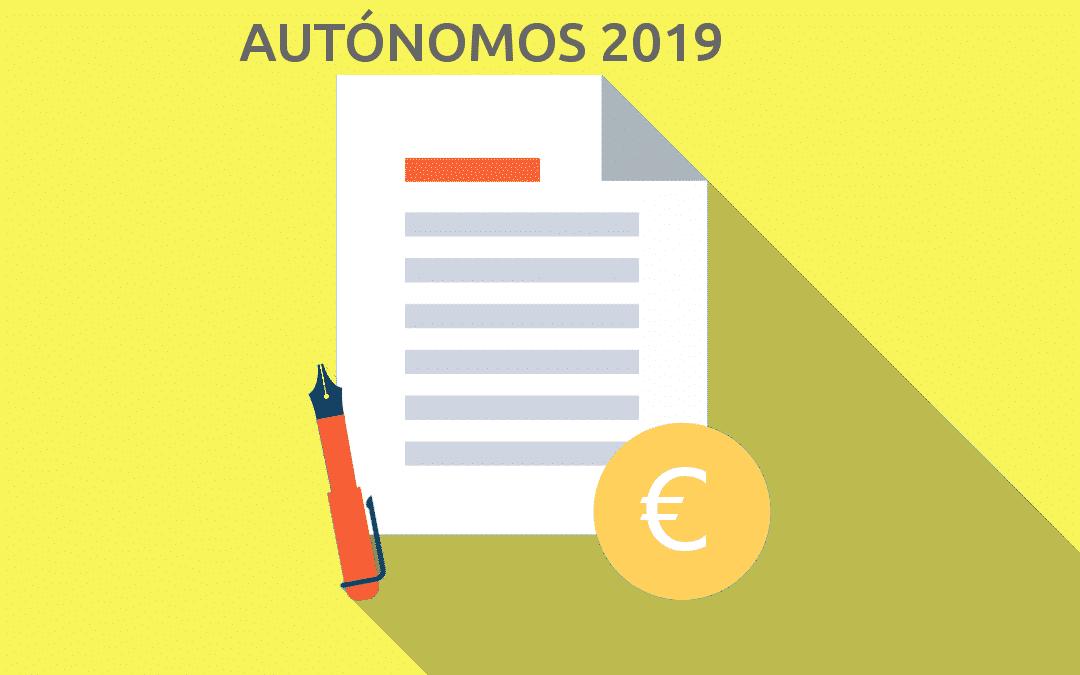Cambios en regulación de autónomos en 2019