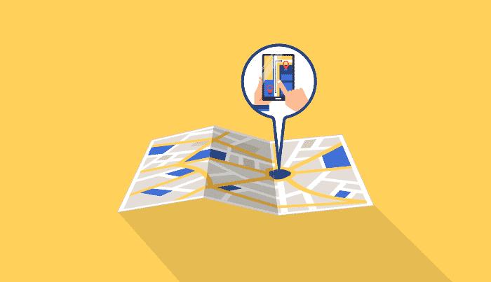 Los sistemas de geolocalización de Google Maps