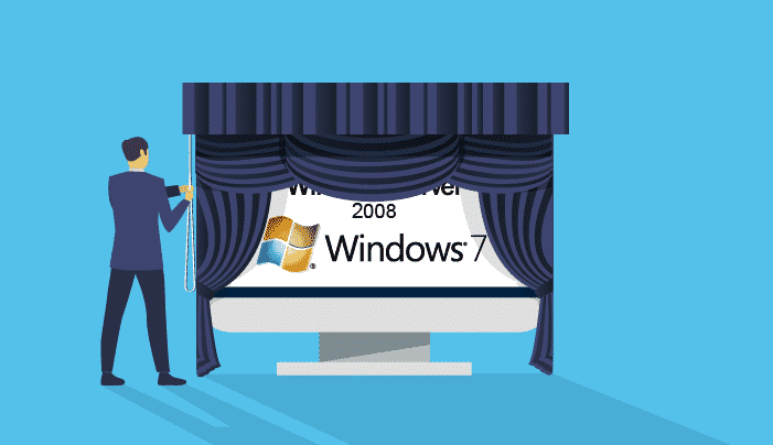 En Enero de 2020 termina el soporte a Windows 7 y Server 2008
