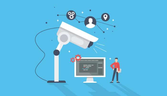 ¿Puede tu empresa grabarte mientras trabajas?