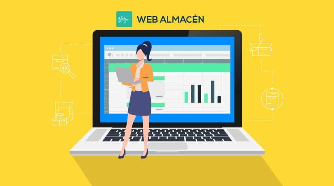 Web Almacen Programa de gestion de inventario