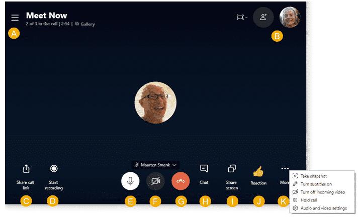 Captura de Skype